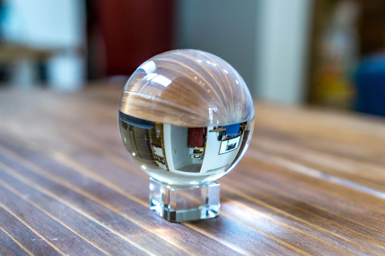 カメラ撮影用に水晶玉を買った理由。水晶玉写真撮影の一例part1