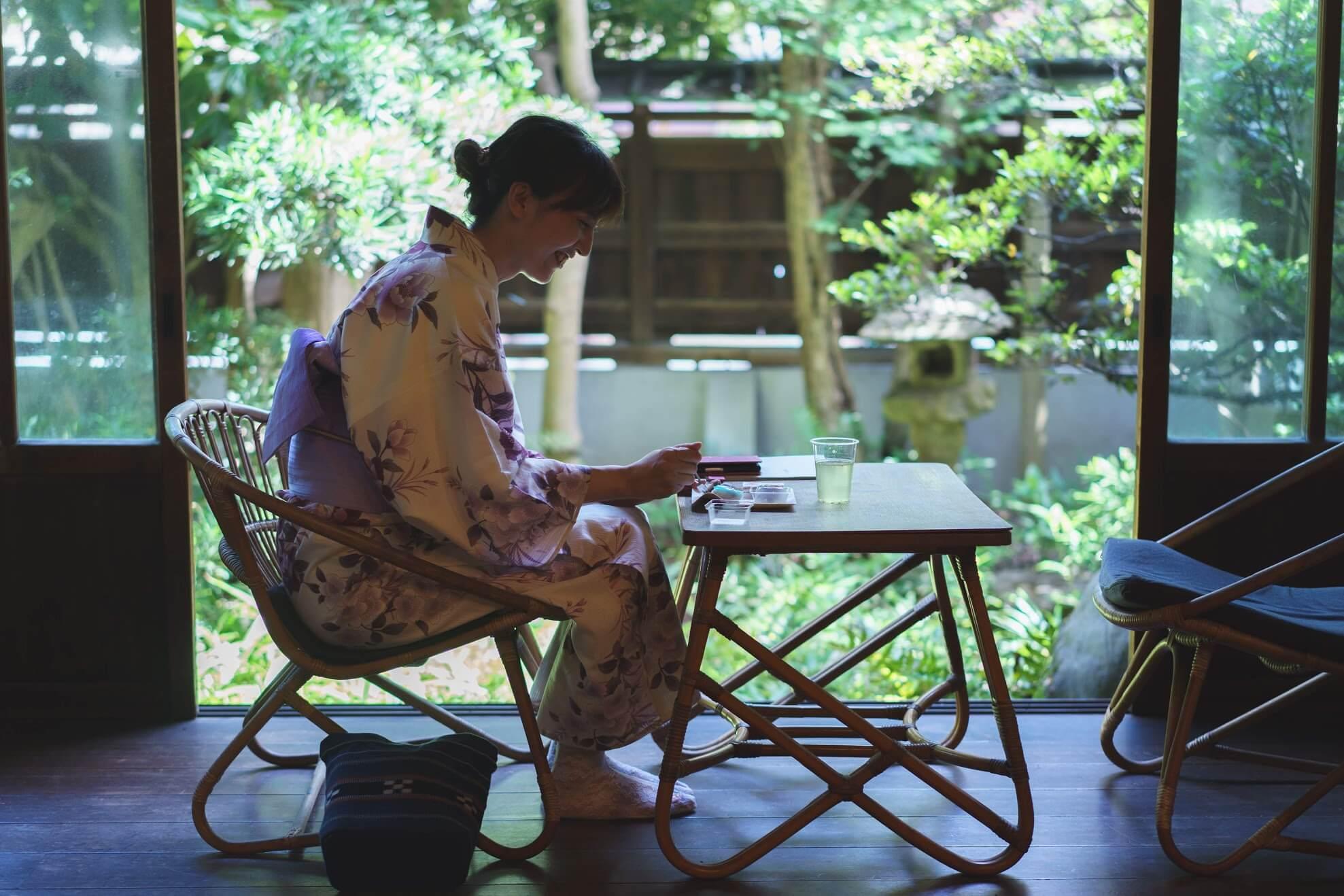 和菓子×縁側付き古民家 憧れの夏の過ごし方はこれだった。