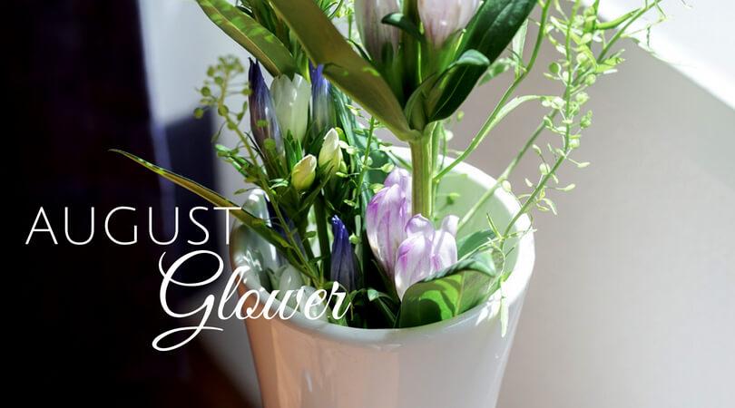【今月の花8月】リンドウ二種×タラスピ 〜夏に咲くアシロリンドウ。