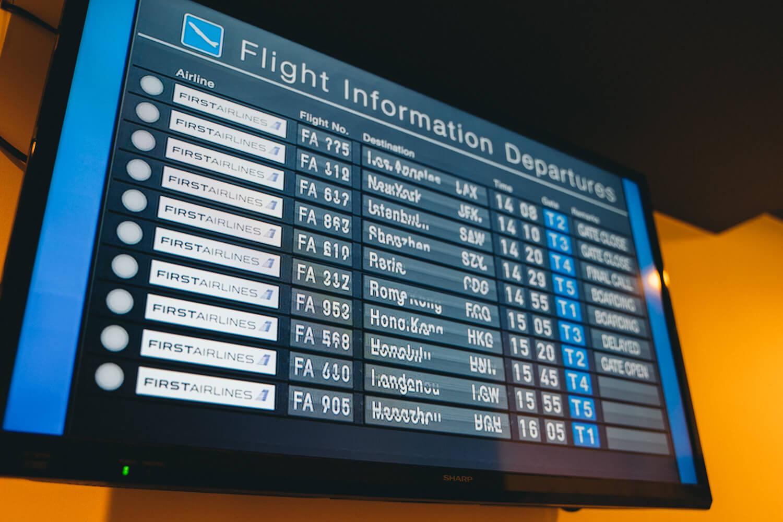 池袋国際空港でニューヨークへ!「FIRST AIRLINES」[PR]